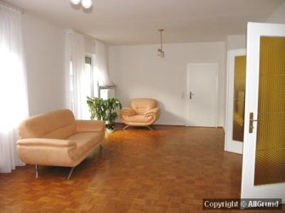 Generous living room